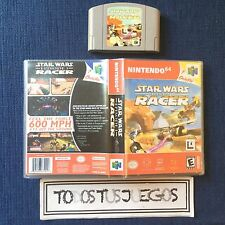 Star Wars Episode I Racer Caja Reproducion Especial Juegos Nintendo 64 N64