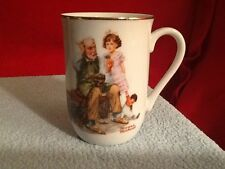 1982 Norman Rockwell Museum Collectible Coffee Tea Cup Mug – The Cobbler - Neat