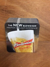 Budweiser Premier Draught Coasters  - Coaster - 25 Pack - Free Ship!