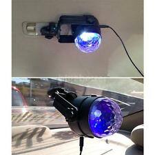 Colorful LED Car DJ Light Music Rhythm Sound Effect Flashing Crystal Lamp OC3O