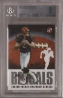 2003 Topps Pristine #75 Carson Palmer RC (Bengals) graded BGS 9 MINT