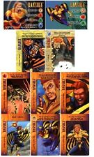 BANSHEE COMPLETE MARVEL OVERPOWER SET - (2 HERO & 8 SPECIALS +6 MORE) CHEAPEST!