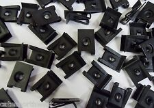 *US SELLER* 100 SPRING TYPE U NUTS WIDE RANGE #8 SCREW SIZE GM 9431530 9424837