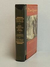 Don Quixote Modern Library 1946 Illustrated by Salvador Dali ~ Clear Dust Jacket