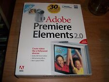 Adobe Premiere Elements 2.0 (Retail 1 User/s) Full Version for Windows XP G6252