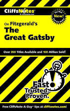 """Notes on Fitzgerald's """"Great Gatsby"""" (Cliffs Notes), Kate Maurer Paperback Book"""