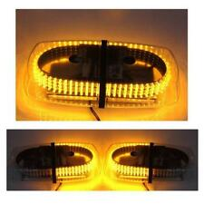 Yellow & Amber 240 LED Light Bar Roof Top Emergency Hazard Warning Flash Strobe