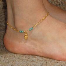 Mano Fatima di Fatima Braccialetto alla caviglia.