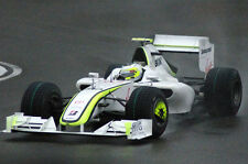 1/10 2009 F1 Brawn BGP 001 RC Car Body with wings decal for Tamiya F103 F104w