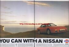 Nissan 200SX 1993 Double Page Magazine Advert #120
