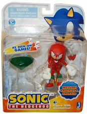 Sonic the Hedgehog Knuckles w/ Emerald 3in Action Figure Jazwares Toys