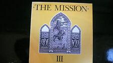 "THE MISSION III - 12""Maxi Vinyl - Mercury Records 1986 3 Tracks Near Mint #40146"