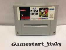 FIFA INTERNATIONAL SOCCER SNES SUPER NINTENDO PAL SOLO CARTUCCIA CARTRIDGE ONLY