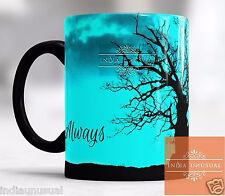 HARRY POTTER SNAPE LILY ALWAYS CHRISTMAS magic color changing Coffee Mug Cup