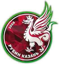 "FC Rubin Kazan Russia Football Soccer Car Bumper Sticker Decal 4""X5"""