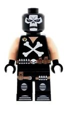 Custom Minifigure Crossbones Superhero Batman Printed on LEGO Parts