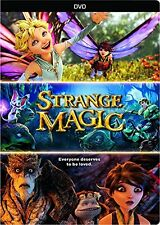 STRANGE MAGIC (2014 Animated Movie)  -  DVD - REGION 1 - SEALED
