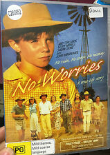 No Worries ex-rental region 4 DVD (1994 Australian family drama movie) VERY RARE