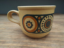 Mid Century KILN CRAFT BACCHUS Stoneware Tea Cups STAFFORDSHIRE POTTERIES