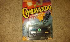 Matchbox Commando Dagger Force Authentic Action Vehicle 1988 Medical Van