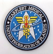 "Star Trek:Starfleet Command Medical 3.5"" Logo Patch- FREE S&H (STPA-SFC-14)"