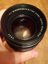 MC Biometar Carl Zeiss F2.8 120 mm PL-MOUNT LENS ARRIFLEX ARRI MOVIE CAMERA BMPC