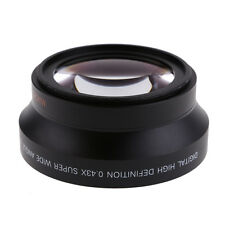 67mm Super Wide Angle Lens 0.43x &Marco Fisheye For Cameras Carnon Nikon