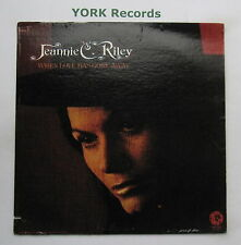 JEANNIE C RILEY - When Love Has Gone Away - Excellent Con LP Record MGM SE-4891