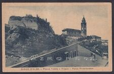 CUNEO DIANO D'ALBA 04 PARCO RIMEMBRANZE Cartolina 1942