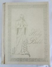 Holy Bible 1964 King James Version Division Reference Edition White Illustrated