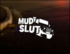 MUD SLUT Car Decal Sticker Vinyl Graphic Land Rover Defender Discovery 90 110