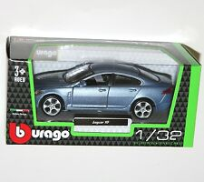 Burago - JAGUAR XF (Blue) Model Scale 1/32