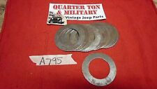 Jeep Willys MB GPW Cj2A 3A NOS A795 Thrust washer differential side gear