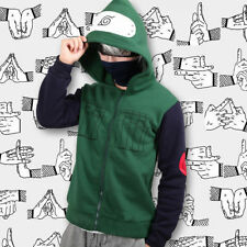 Cosplay Anime Naruto Hatake Kakashi Jacket Sweatshirt Coat Hoodie sweater