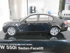 1:18 KYOSHO BMW E60 5 SERIES 550i SEDAN - FACELIFT