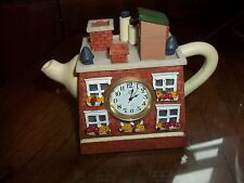 Japan-Movt Teapot House Clock
