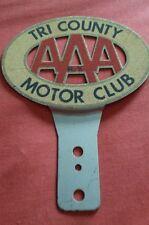 050 AAA Tri-County insignia del Club Coche Asociación Automovilística de América sin usar BMW