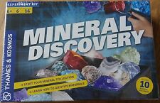 Mineral Discover Science Experiment Kit Thames & Kosmos Mineral Collection