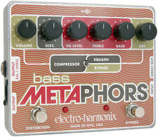 Electro-Harmonix Bass Metaphors Channel Strip & Overdrive - free shipping