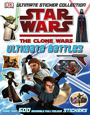 Star Wars The Clone Wars Ultimate Battles Sticker Collection (Star Wars Clone Wa