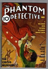 THE PHANTOM DETECTIVE: THE CIRCUS MURDERS TRADE PAPERBACK (MARCH 1936) - 2007