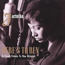 Here's to Ben: A Vocal Tribute to Ben Webster Jacintha Music-Good Condition