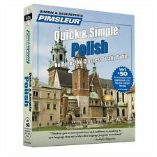 NEW! Pimsleur Polish Quick & Simple Course - Level 1 Lessons 1-8 [Audiobook]