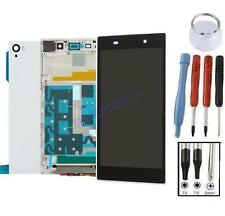 KIT COMPLET VITRE TACTILE ÉCRAN LCD CHASSIS ARRIÈRE PR SONY XPERIA Z1 L39H BLANC