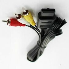 6FT 1.8M SNES SUPER NINTENDO 64 N64 GAMECUBE RCA AV CABLE