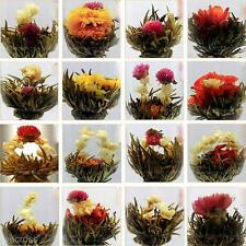 10Pcs Handmade Chinese Green Artistic Blooming Flowering Flower Tea Ball Gift