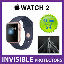 Apple Watch Series 2 42mm Screen Protector - Military Grade Quality - PACK OF 3