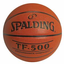 """SPALDING TF-500 Composite Wide Channel Basketball Men's Official Size 29.5"""" NEW"""