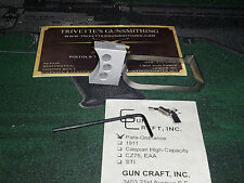 Para Ordnance Wide Body Double stack 1911 Target Trigger over travel screw metal