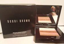"""Bobbi Brown Shimmer Brick Compact Face Powder """"Sunset Pink"""" LE NIB!"""